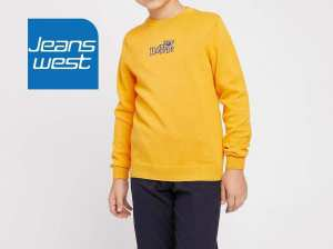 JeansWest Mustard Sweater for Boys