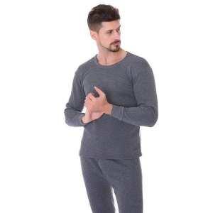 Men Elastic Soft Warm Long Johns Suit Thermal Underwear Set