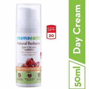Mamaearth Natural Radiance Day Cream, 50ml