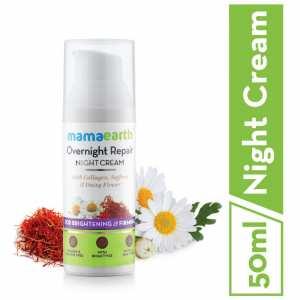 Mamaearth Overnight Repair Face Cream, 50ml