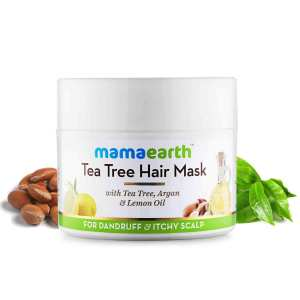 Mamaearth Tea Tree Anti Dandruff Hair Mask, 200ml