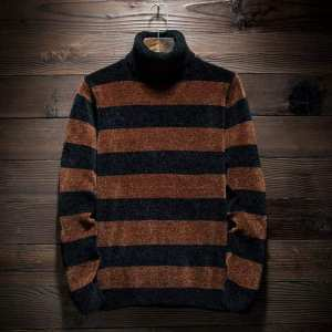 Latest Straps Sweater For Men High Neck Pull Over For Men