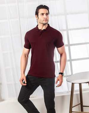 Men's Casual Half sleeve polo T-shirt