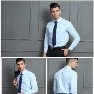Formal Casual Shirt For Men(light blue)