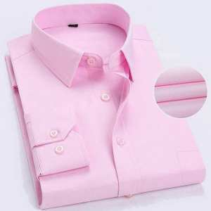 Formal Casual Shirt For Men (pink)