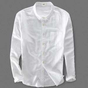 Summer Casual Formal Shirt For Men (white)