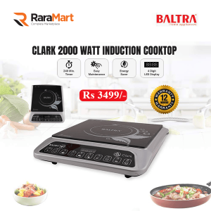 Baltra Clark 2000 Watt Induction Cooktop (Black)