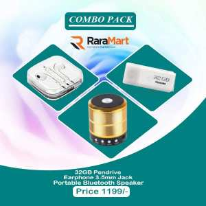 Combo Pack Of Electronics Accessories -3 pcs