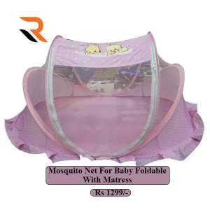 Mosquito Net For Baby Pink & Blue Color