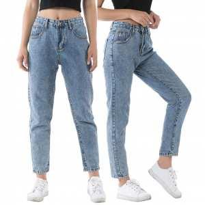 Boyfriend Jeans Vintage High Waist Jeans For Women Boyfriend Jeans Length Mom Style