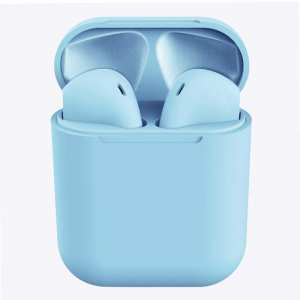 InPods 12 HiFi Wireless Bluetooth 5.0 Earphones with Charging Case, Support Touch & Voice Function