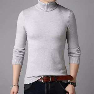 Greay Winter Turtle High Neck For Men