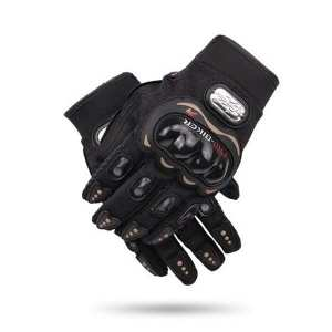 Pro Bike Gloves With Knuckle Protection