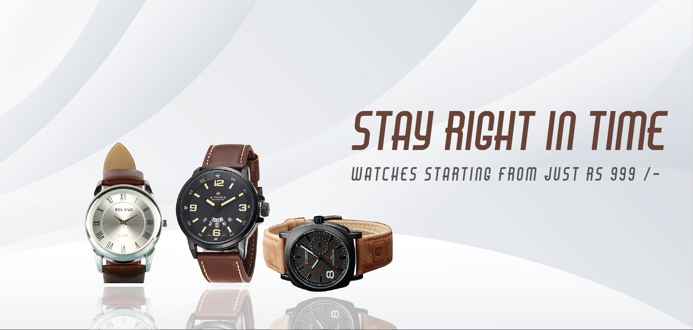 Different Brand Watches.